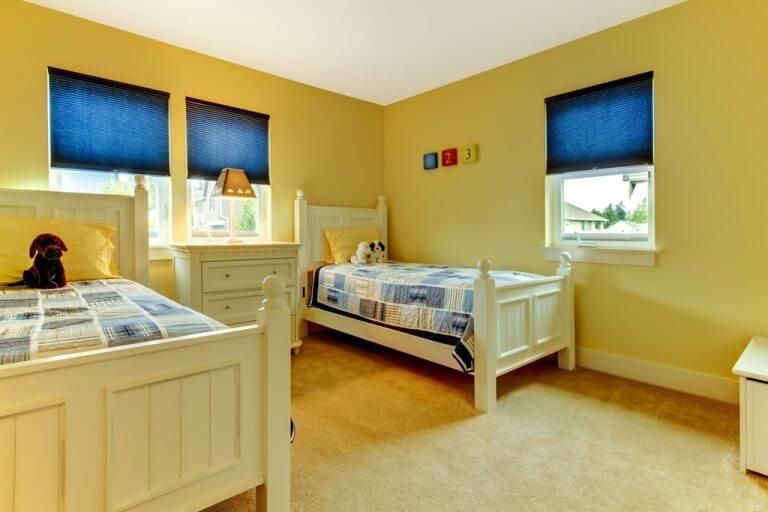 וילונות לחדרי ילדים כחול