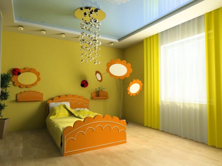 וילונות לחדרי ילדים ירוק