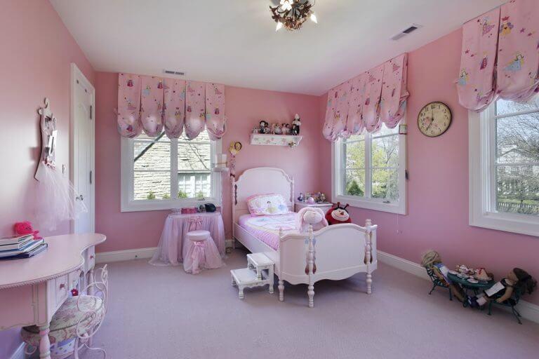 וילונות לחדרי ילדים בד