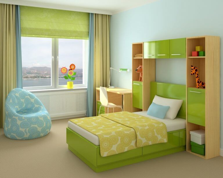 וילונות לחדרי ילדים 5